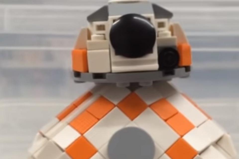 Imagem de É possível construir um BB-8 de Star Wars com LEGO? É sim! no tecmundo