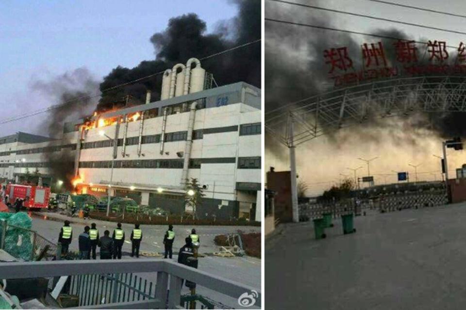 Imagem de Incêndio toma conta da principal fábrica de iPhones da Foxconn  no tecmundo
