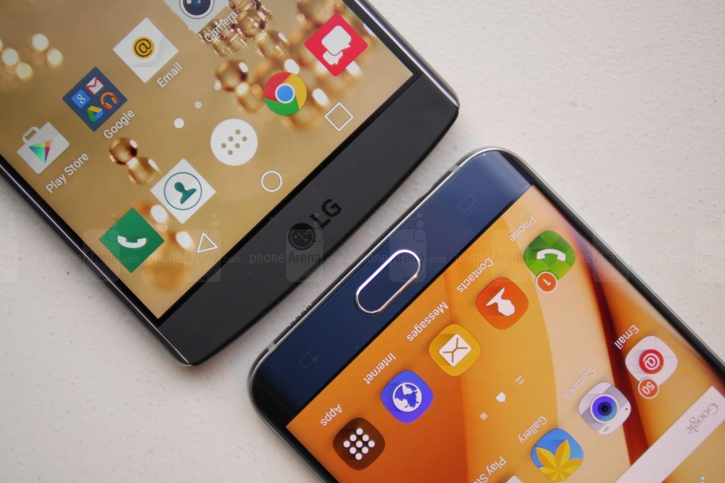 Imagem de LG cutuca Samsung no Twitter por falta de bateria removível no S6 Edge+ no tecmundo