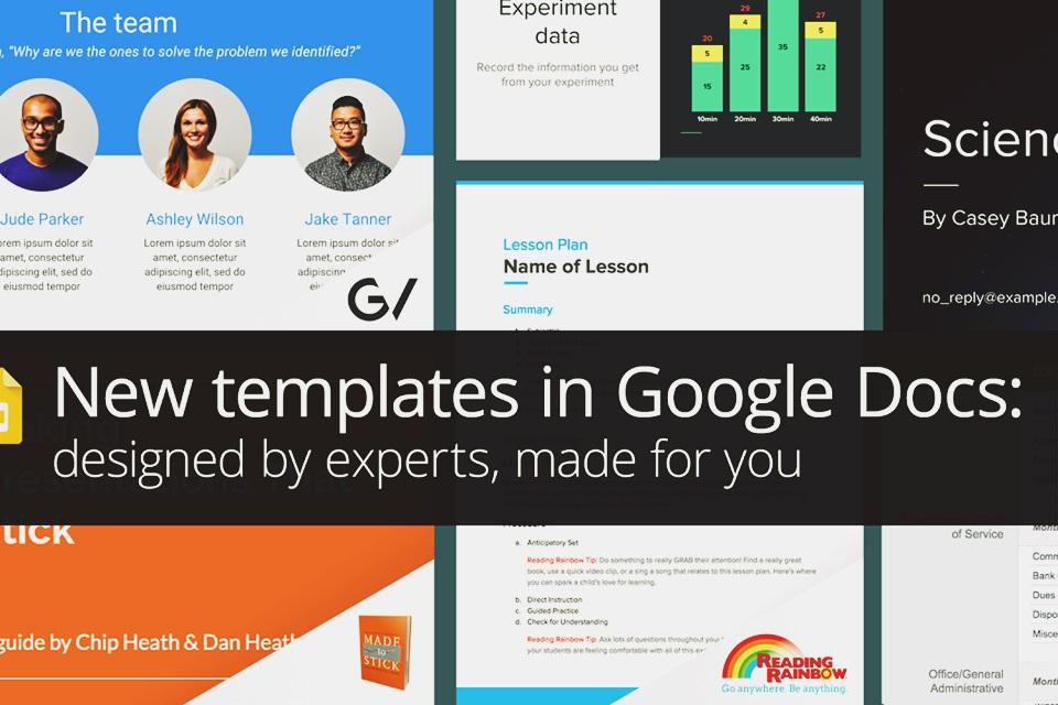 Imagem de Google libera templates elaborados por experts para seus programas do Docs no tecmundo