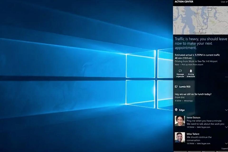 Imagem de Nova Central de Notificações do Windows 10 é completa e sincronizada no tecmundo