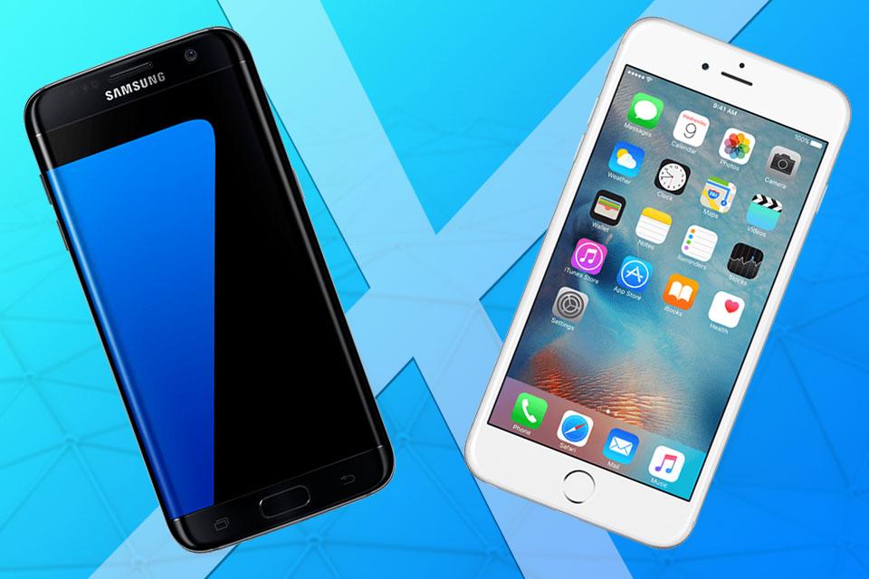 Imagem de Comparativo: Galaxy S7 edge x iPhone 6s Plus: qual é o melhor smartphone? no tecmundo
