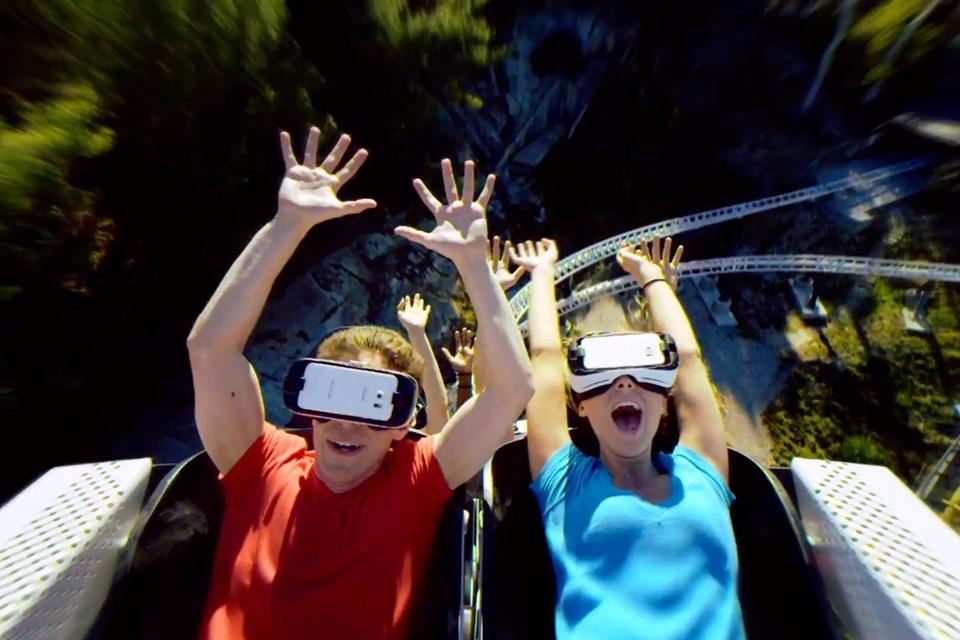 Imagem de Misturar montanhas-russas e VR pode ser mais legal do que parece [vídeo] no tecmundo