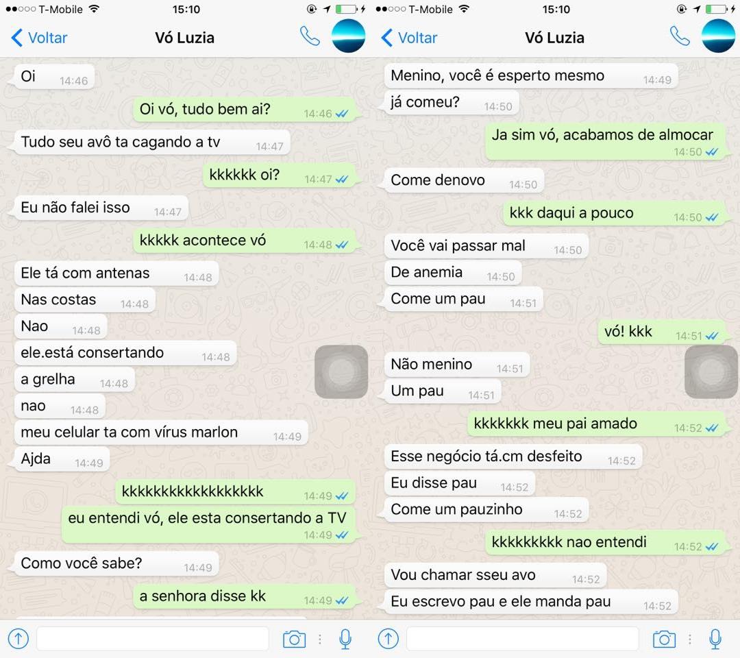 Imagem de Vovó entra no WhatsApp, sofre com o autocorretor e viraliza na internet no tecmundo