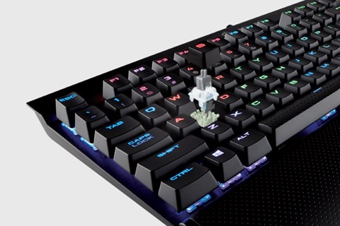 Imagem de Corsair RAPIDFIRE: teclados K70 e K65 agora com Cherry MX Speed Switches no tecmundo