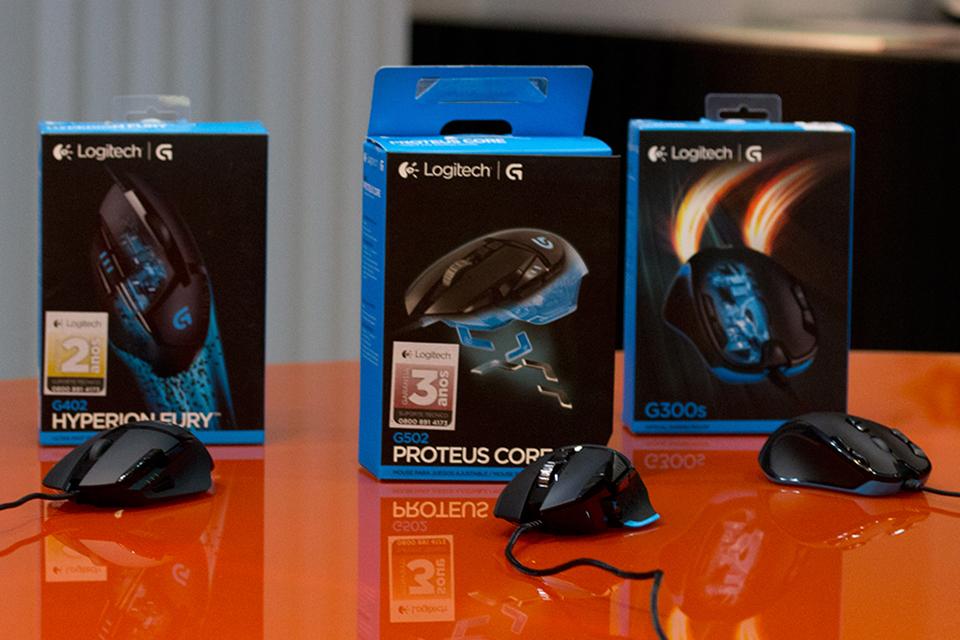 Imagem de Apresentação: mouses gamer Logitech G300s, G402 e G502 Proteus Core [vídeo] no tecmundo