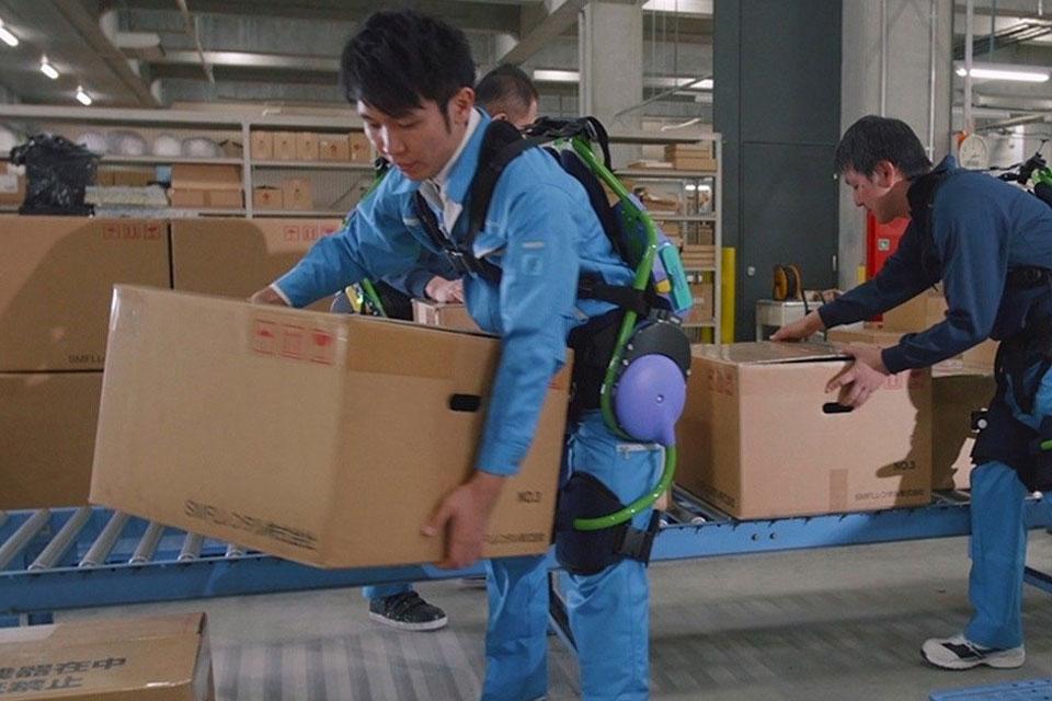 Imagem de Panasonic cria exoesqueleto incrível para ajudar trabalhadores e idosos no tecmundo