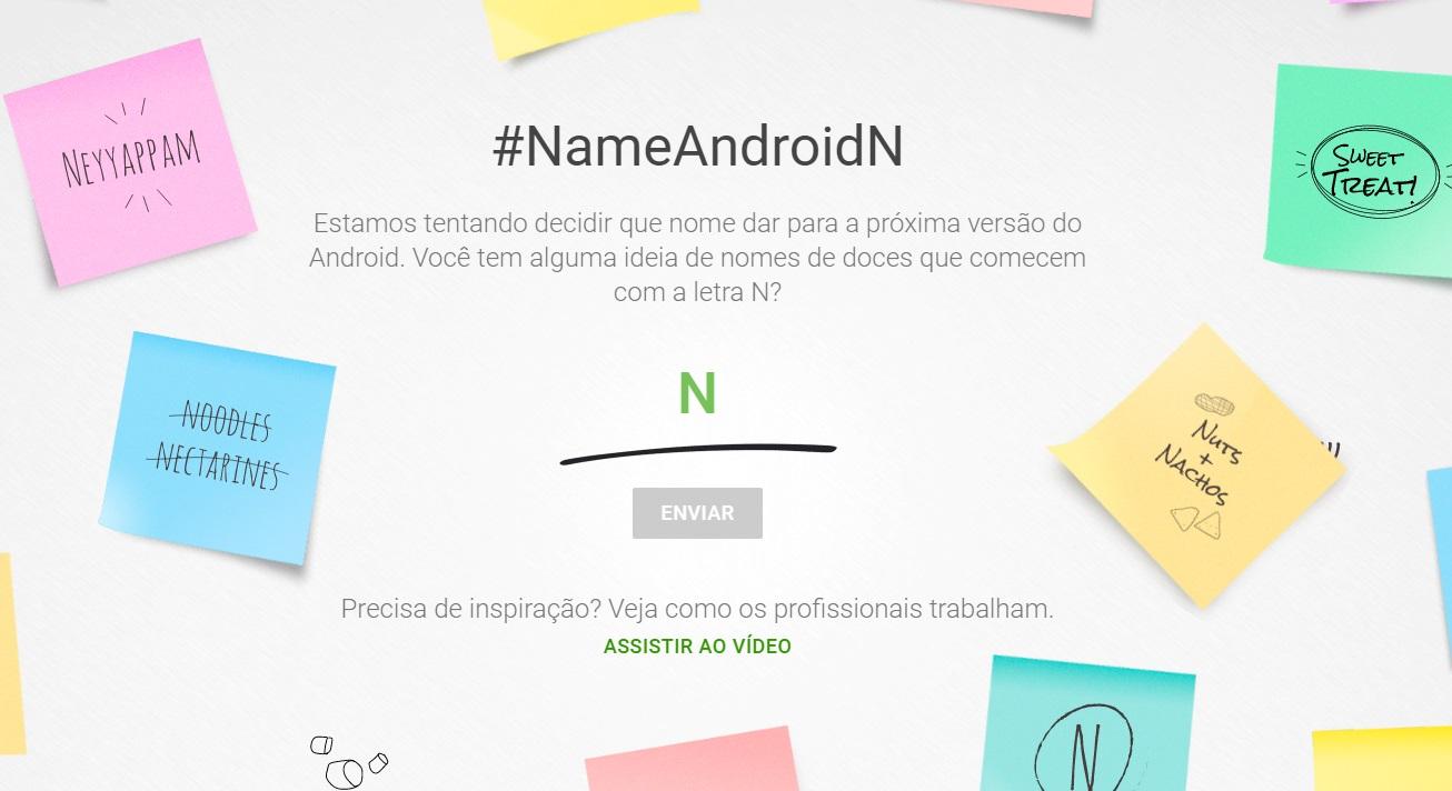 Imagem de Google quer que você escolha o nome do Android N no tecmundo
