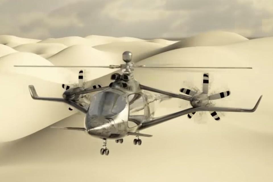 """Imagem de Airbus registra patente para o """"helicóptero mais rápido do mundo"""" no tecmundo"""