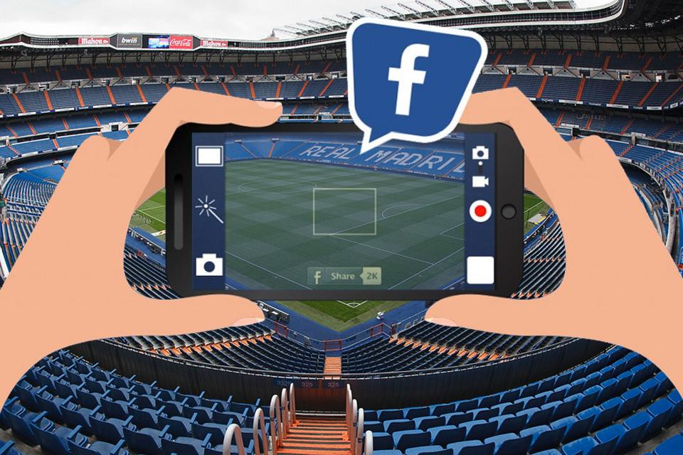 Imagem de Facebook vai transmitir jogo de futebol ao vivo no tecmundo