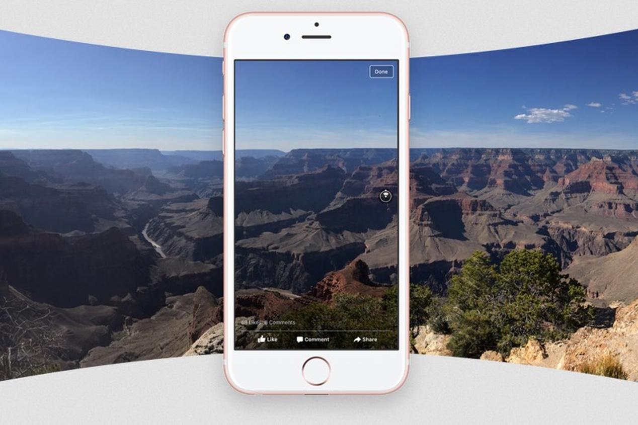 """Imagem de Facebook já permite postar fotos em 360° """"interativas"""" no tecmundo"""