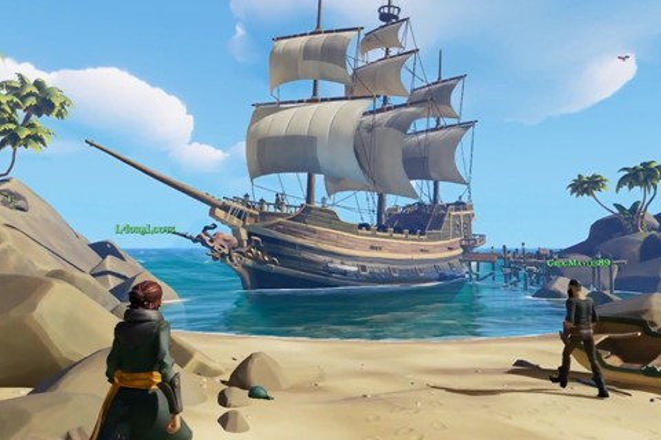 Imagem de Sea of Thieves, jogo da Rare para XOne, ganha primeiro trailer de gameplay no tecmundo
