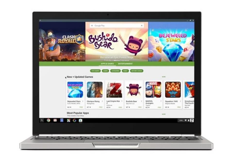 Imagem de Apps do Android já estão disponíveis nos computadores com Chrome OS no tecmundo