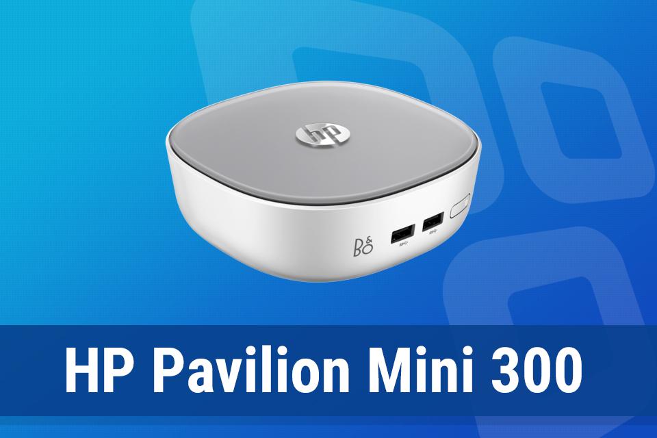 Imagem de Review: computador mini PC HP Pavilion Mini 300-202BR no tecmundo