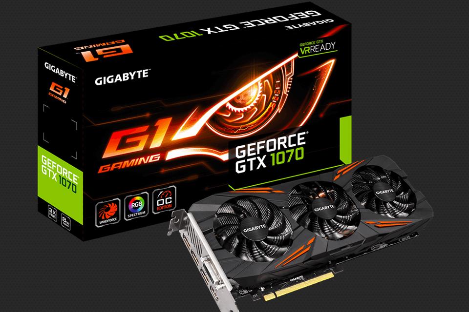 Imagem de Nova placa de vídeo GeForce GTX 1070 G1 GAMING é apresentada pela Gigabyte no tecmundo
