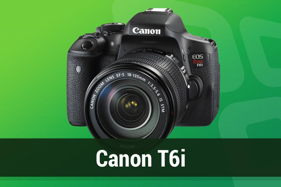 Imagem de Review: câmera Canon EOS Rebel T6i no tecmundo