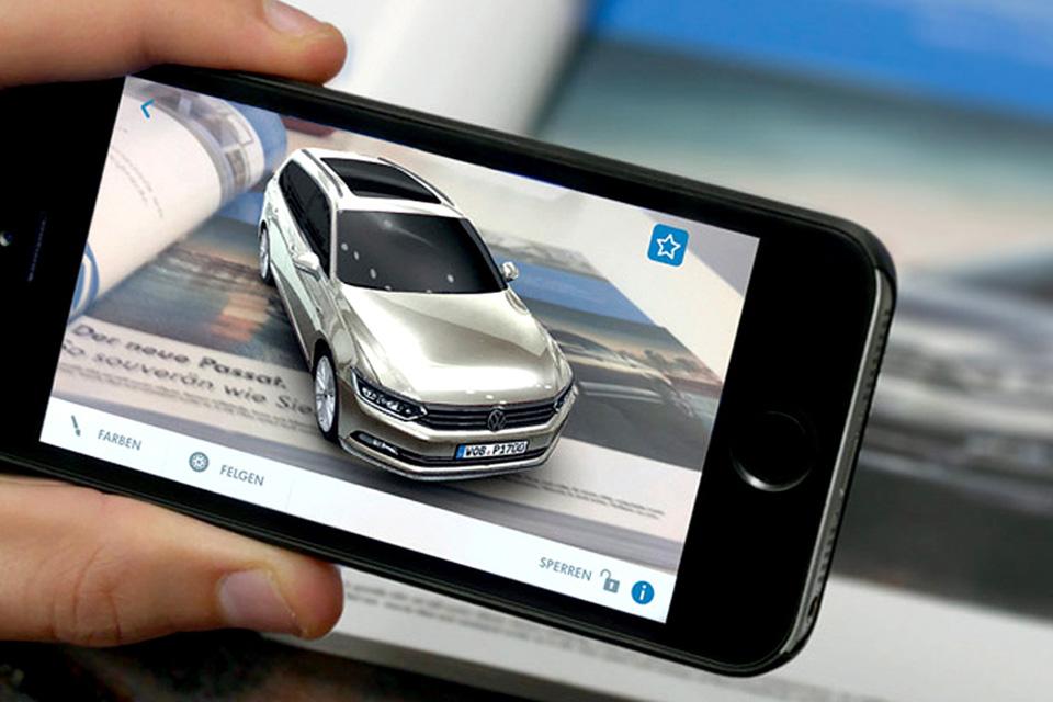 """Imagem de Volkswagen cria experiência VR em """"showroom virtual"""" no tecmundo"""