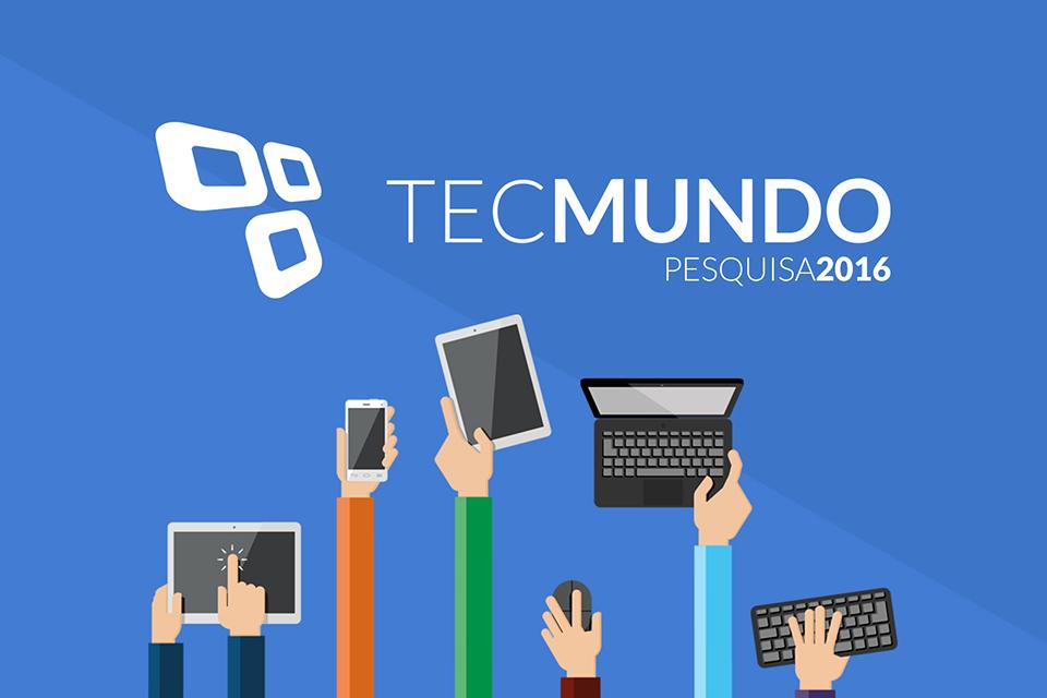 Imagem de Pesquisa TecMundo 2016: queremos ouvir a sua opinião sobre a gente no tecmundo