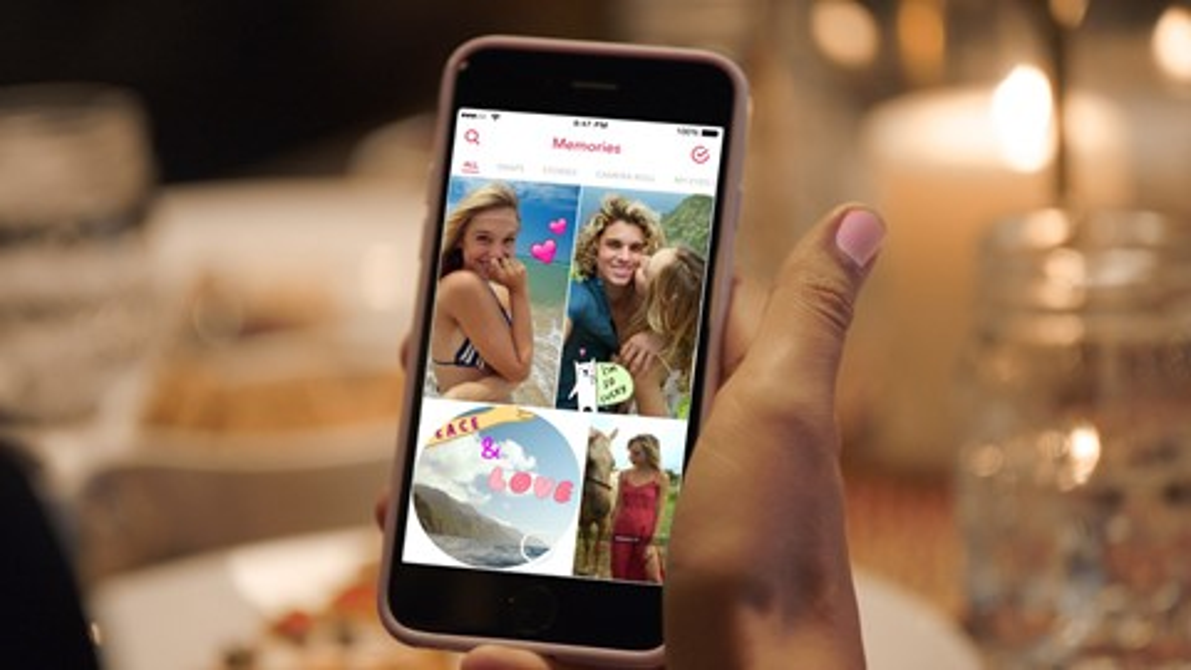 Imagem de Snapchat Memories: agora dá para salvar seus snaps favoritos dentro do app no tecmundo