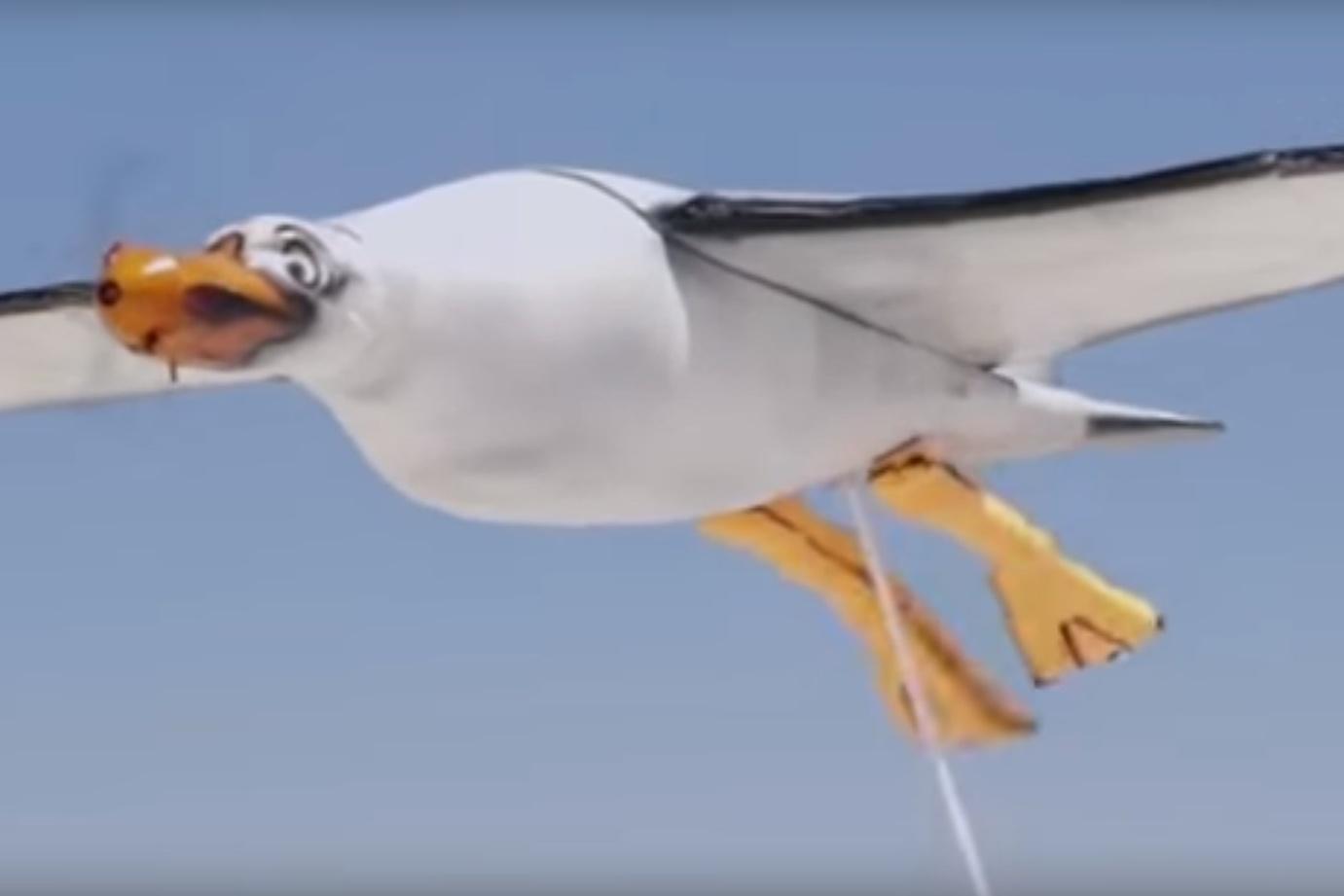 """Imagem de Nivea cria """"drone-gaivota"""" que defeca protetor solar em crianças no tecmundo"""