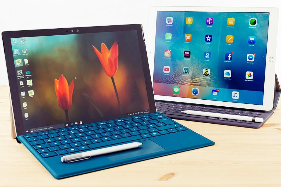 Imagem de Treta portátil: Microsoft usa Surface Pro 4 e Cortana para detonar iPad Pro no tecmundo