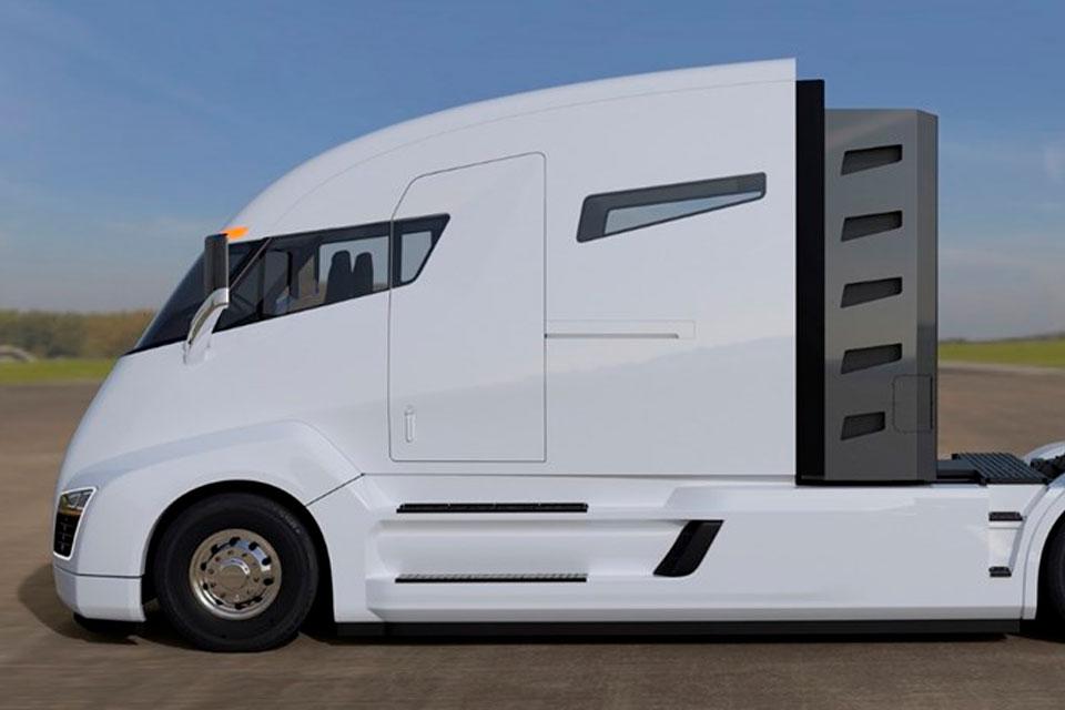 """Imagem de """"Tesla dos caminhões"""" quer inovar e, para isso, aposta no hidrogênio no tecmundo"""