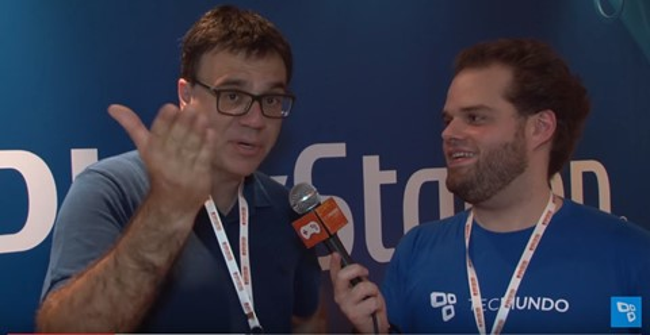 Imagem de Mauro Beting, comentarista de PES 17, é puro carisma; veja nossa entrevista no tecmundo