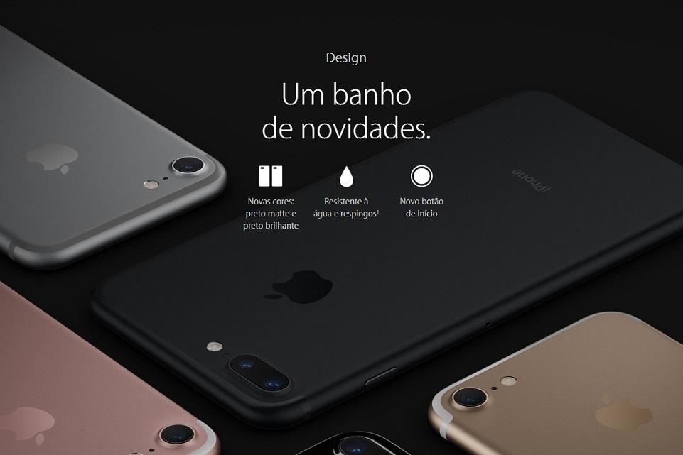Imagem de Apple não cobre garantia por defeitos causados por líquidos no iPhone 7 no tecmundo