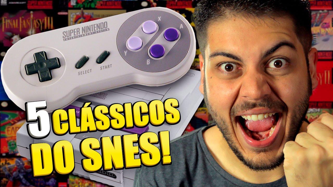Imagem de Nostalgia pura: confira os 5 jogos mais clássicos do Super Nintendo [vídeo] no tecmundo