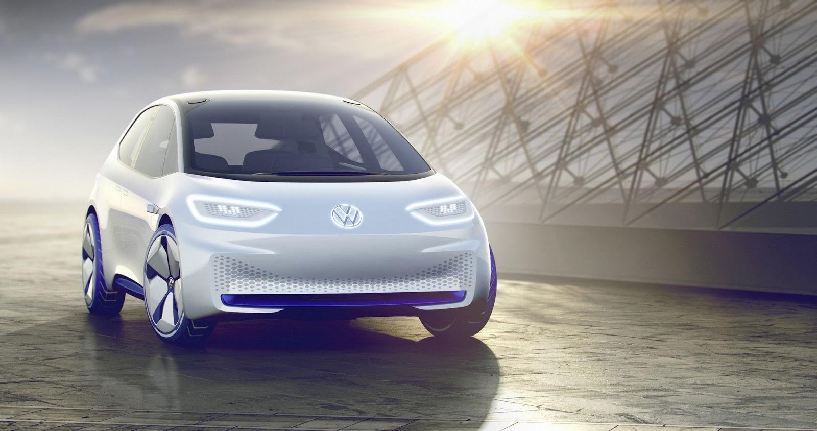 Imagem de Volkswagen mostra como será o seu primeiro carro elétrico, o I.D. no tecmundo