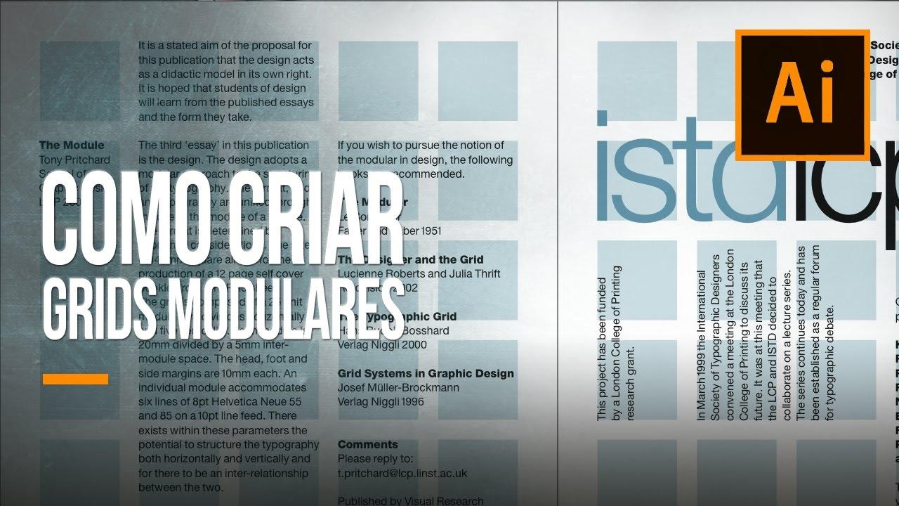 Imagem de Videoaula: aprenda a criar grids modulares no Illustrator CC no tecmundo