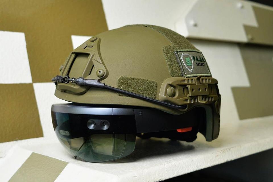 Imagem de HoloLens está sendo utilizado para fins militares por uma empresa ucraniana no tecmundo