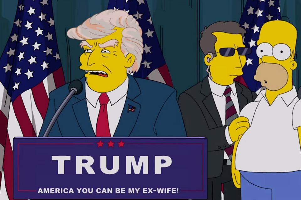 Imagem de Os Simpsons já previa a vitória de Donald Trump para a presidência dos EUA no tecmundo