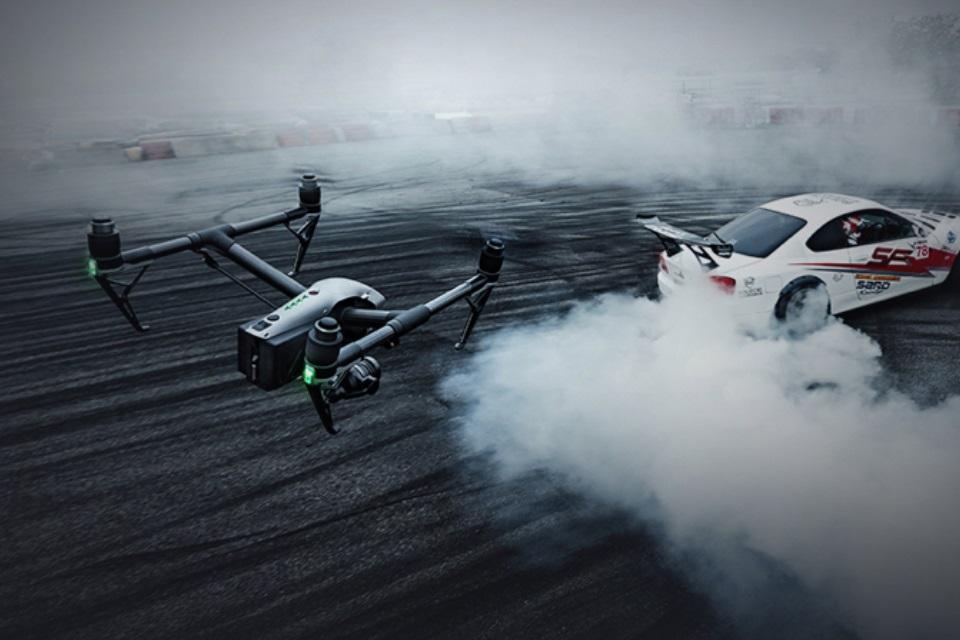 Imagem de DJI anuncia drone Inspire 2 com duas câmeras e velocidade de quase 110 km/h no tecmundo