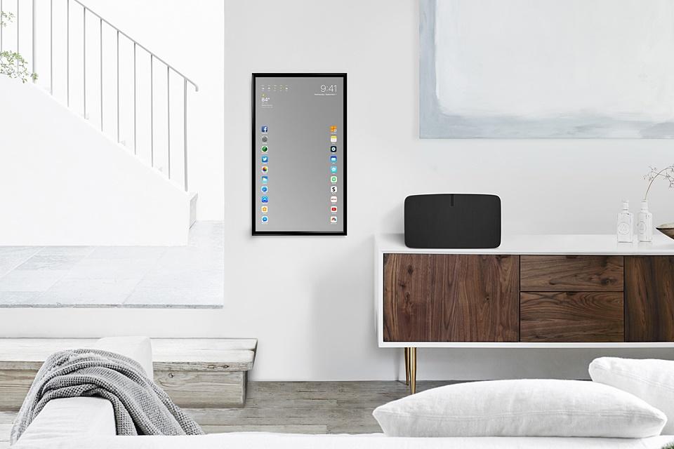 Imagem de Apple Mirror: espelho inteligente funciona como um iPad tamanho família no tecmundo