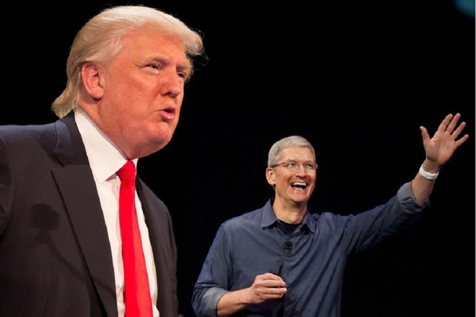 Imagem de Fabricação nos EUA: Donald Trump vai dar uma mãozinha para Tim Cook  no tecmundo