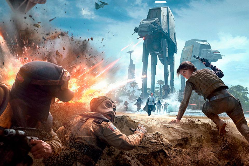 Imagem de Veja o trailer do novo DLC de SW Battlefront que traz Rogue One ao game no tecmundo