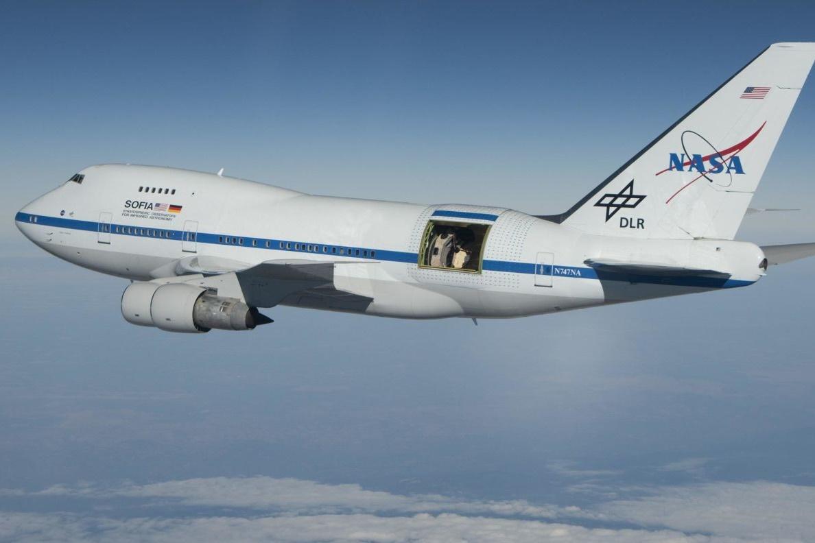 Imagem de Por que a NASA construiu um telescópio dentro de um Boeing 747 modificado? no tecmundo