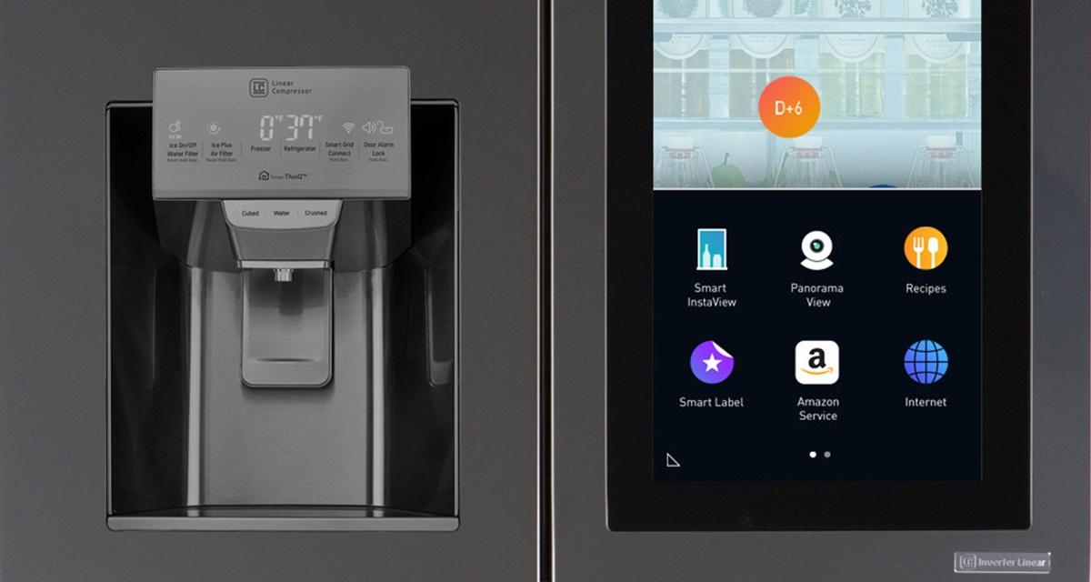 Imagem de Geladeira inteligente da LG com tela de 29 polegadas é destaque na CES 2017 no tecmundo