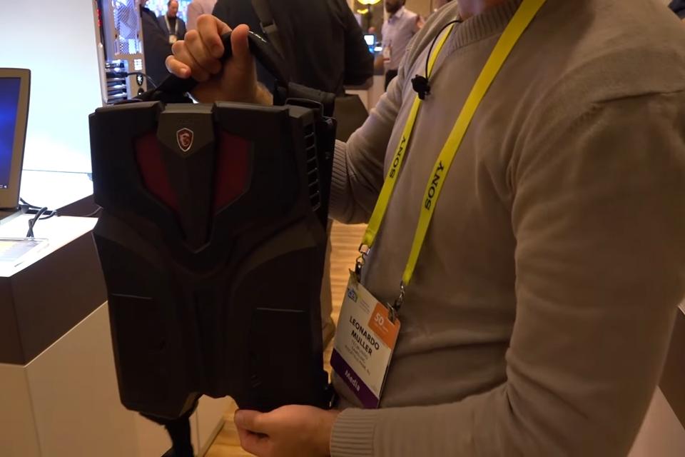 Imagem de Conheça a mochila-computador com VR que você pode levar para qualquer lugar no tecmundo