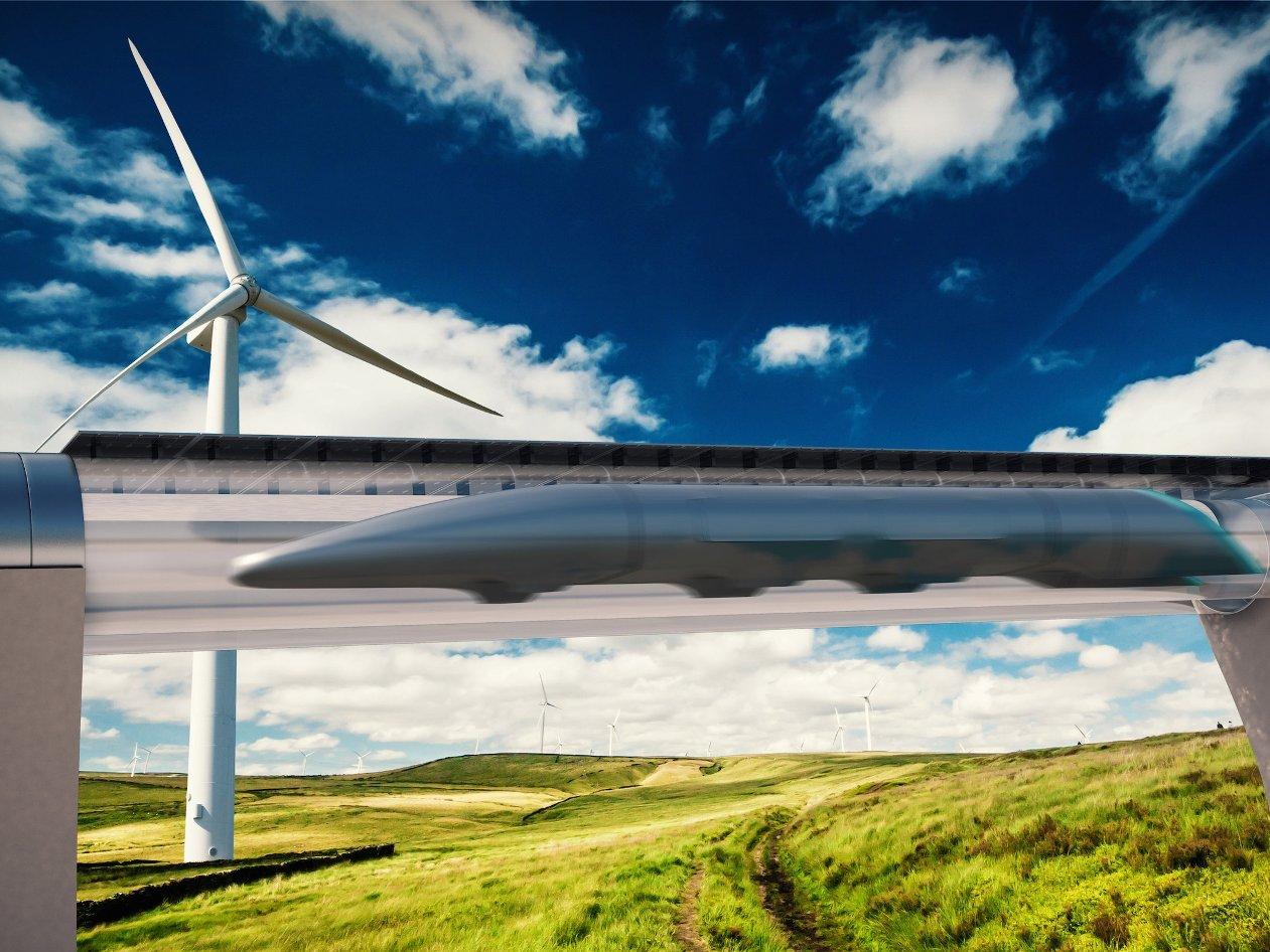 Imagem de O HTT, o trem flutuante que corre há 1.100 km/h, entrará em fase de testes no tecmundo