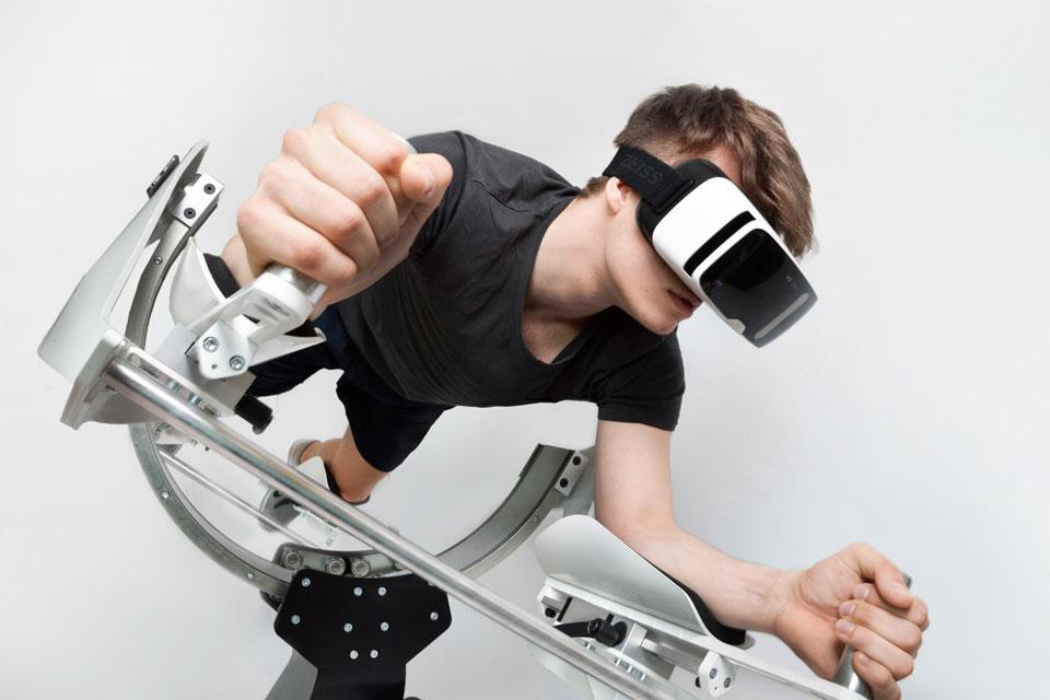 Imagem de Simulador de voo combina realidade virtual com exercícios físicos no tecmundo