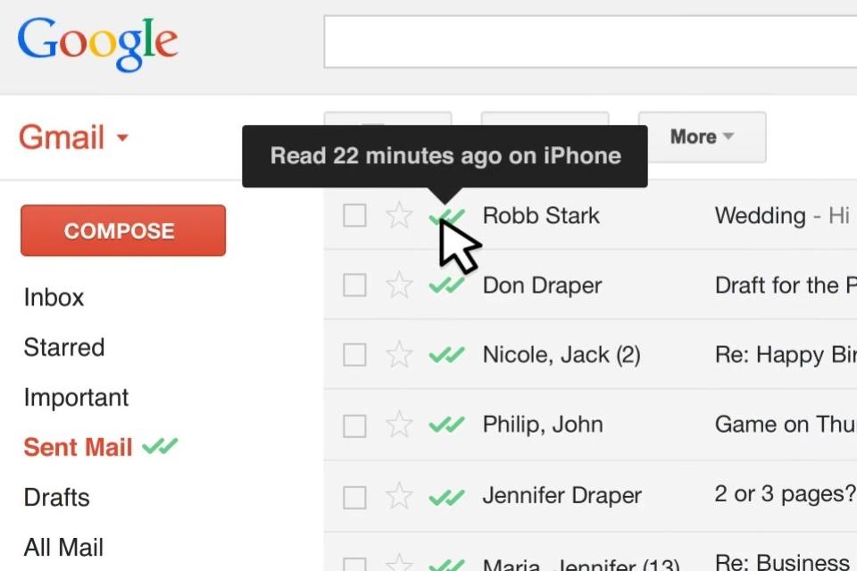 Imagem de Mailtrack leva confirmação de leitura do WhatsApp para o Inbox da Google no tecmundo