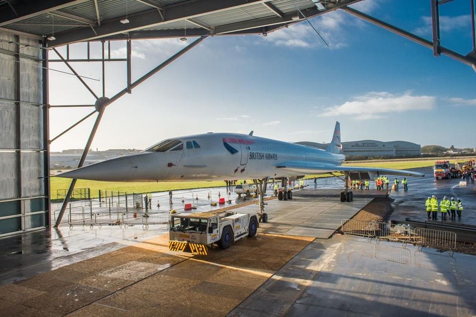 Imagem de Último Concorde a ser construído é movido pela primeira vez em 13 anos no tecmundo