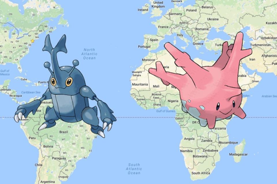 Imagem de Dos seis pokémons regionais de Pokémon GO, dois podem ser achados no Brasil no tecmundo