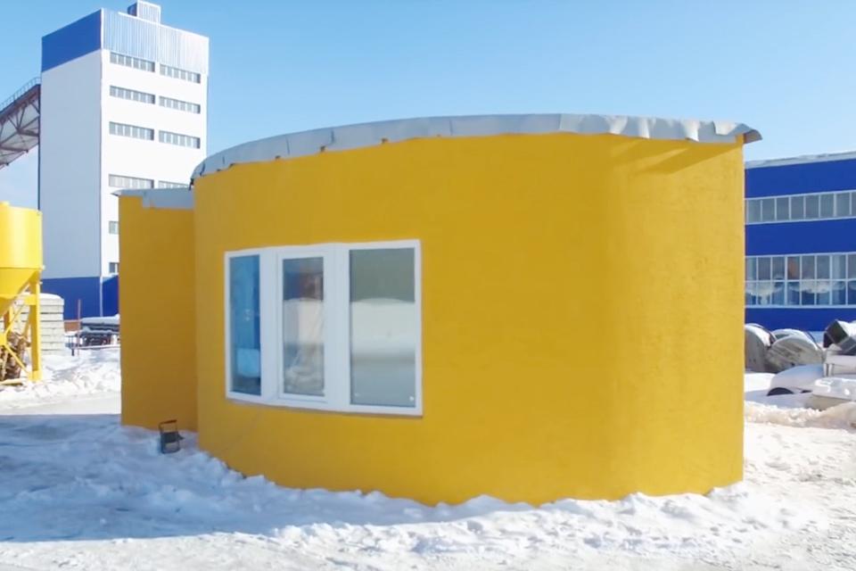 Imagem de Casa impressa em 3D pode ser erguida em 24h e custa pouco mais de R$ 30 mil no tecmundo