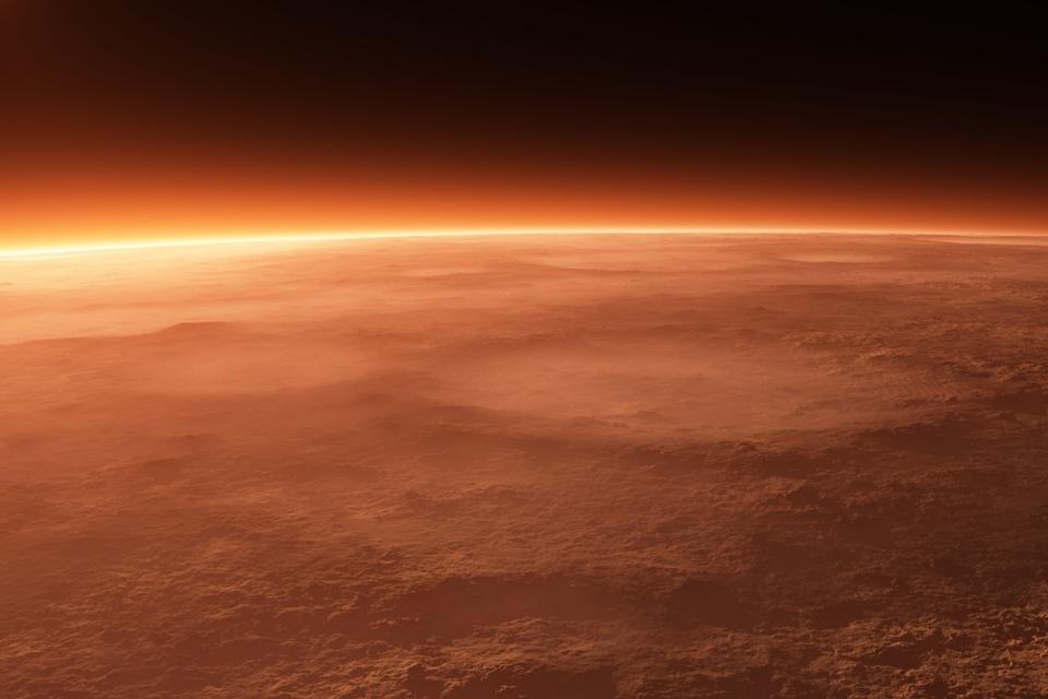 Imagem de NASA quer proteger a atmosfera de Marte criando campo magnético artificial no tecmundo
