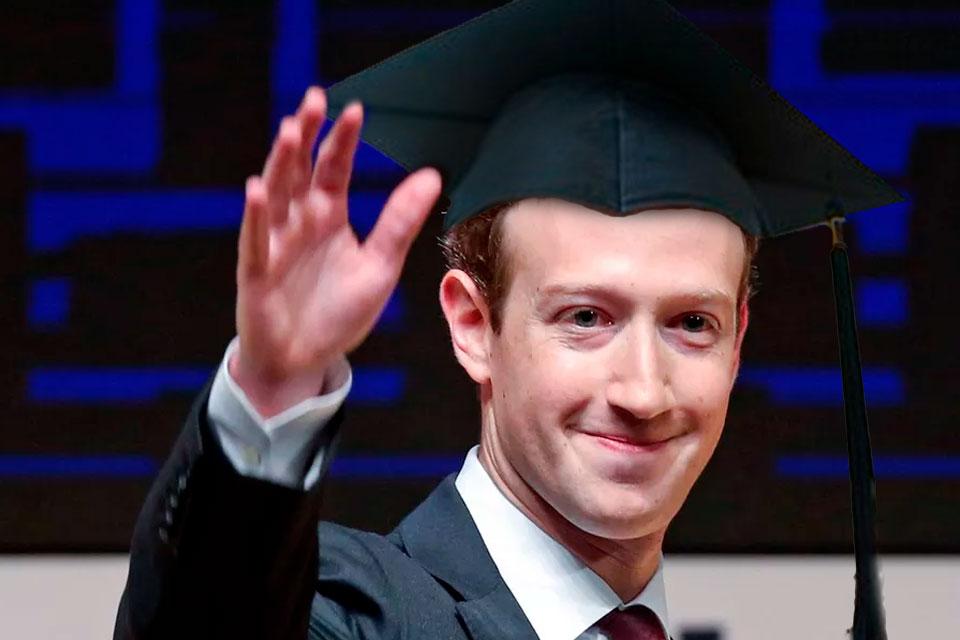 Imagem de Doze anos após deixar Harvard, Mark Zuckerberg enfim vai pegar diploma no tecmundo