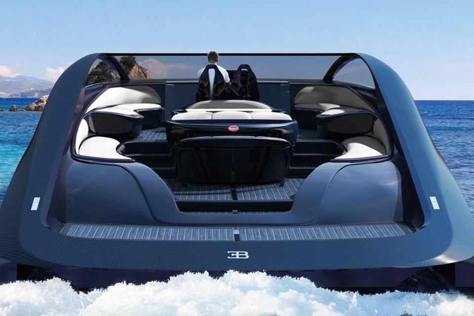 Imagem de Iate de mais de US$ 2 milhões da Bugatti tem lareira e jacuzzi no tecmundo