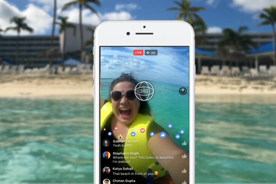 Imagem de Facebook libera lives em 360 graus para todos os usuários no tecmundo